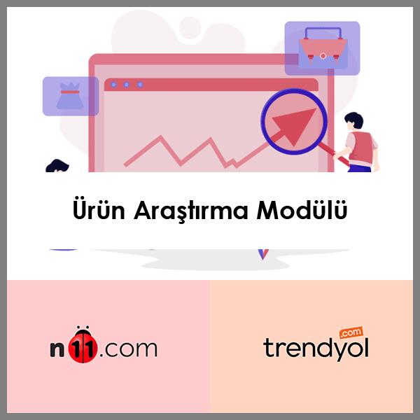 Ürün Tespiti ve Analizi Modülü (n11 ve trendyol)